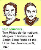The Founders of The Links, Incorporated